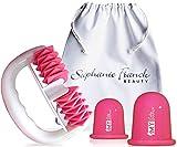 Stephanie Franck Beauty Set 1 AntiCellulite con Rullo massaggiante, Coppette S+L e Pochett...
