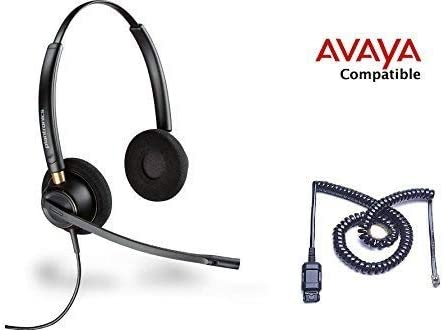 2021 Avaya Compatible Plantronics HW520 EncorePro 520 VoIP Noise Canceling Headsets 1408 1416 2410 2420 4606 4610 4612 4620 4621 4622 4624 new arrival 4625 4630 5410 5420 5610 5620 5621 popular 5625 9404 9406 9408 9504 9508 outlet sale