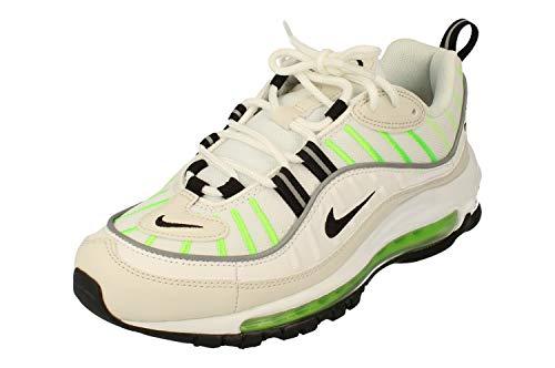 Nike W Air Max 98, Scarpe da Running Donna, Multicolore (Summit White/Black/Phantom/Electric Green 115), 39 EU