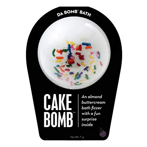 Da Bomb Cake Bath Bomb, White