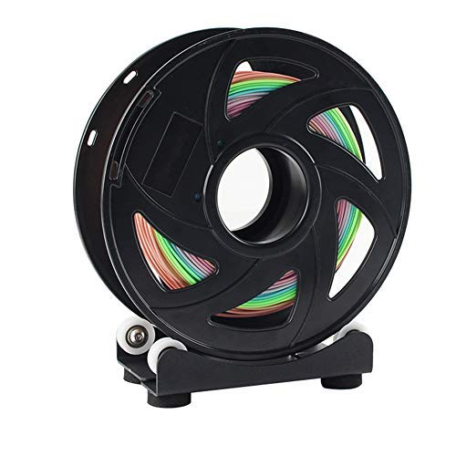Maifa Filament Spool Holder 3D Printer Parts for Ender 3 3S 3PRO - Inclued 2Pcs Filament Spool Board/4Pcs Bearings/4Pcs Foot Pad/4Pcs Screws/4Pcs Small Screws/1Pcs Spanner