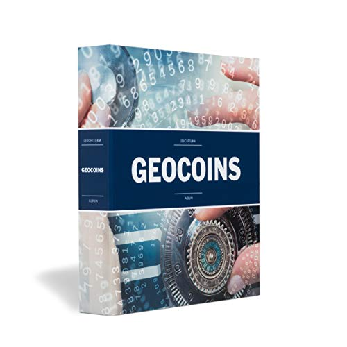 Leuchtturm Album für Geocoins und TBS, inkl. 5 Hüllen