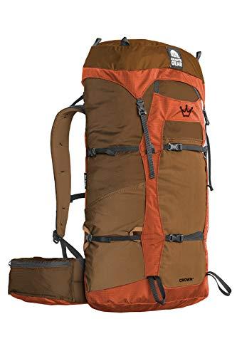 Granite Gear Crown 2 60L Backpack - Men's Arabica/Orange Regular