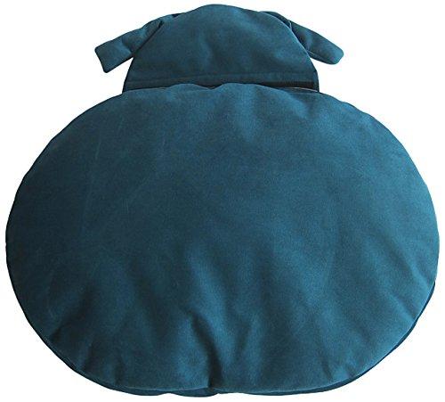 Beautifool Naptime Hundekissen, 73x 54x 12cm, Blaugrün Blau/Hellgrau