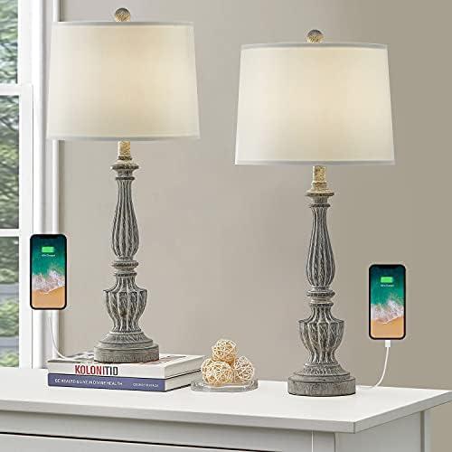 Retro table lamps