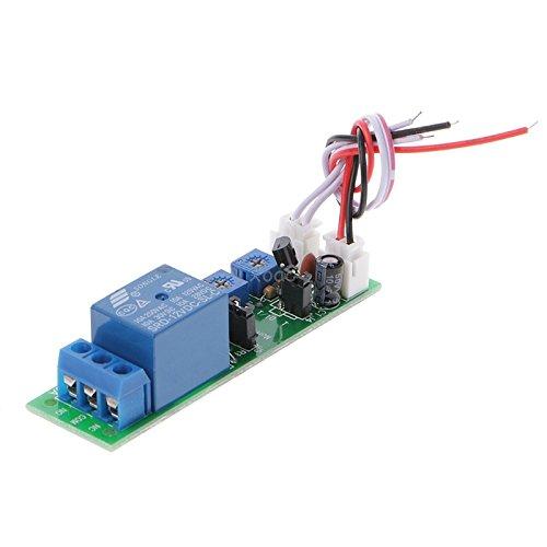 KINWAT DC12V 0-120Min Infinite Cycle Retraso de encendido y apagado temporizador relé interruptor Loop Module May08 Dropship