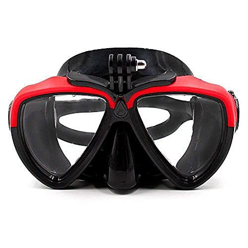 Ferna Gafas De Buceo Máscara De Cara Completa Natación Snorkel Buceo Cámara Gafas Adulto Máscara De Snorkeling Completo con Soporte Equipo para Acechas,05