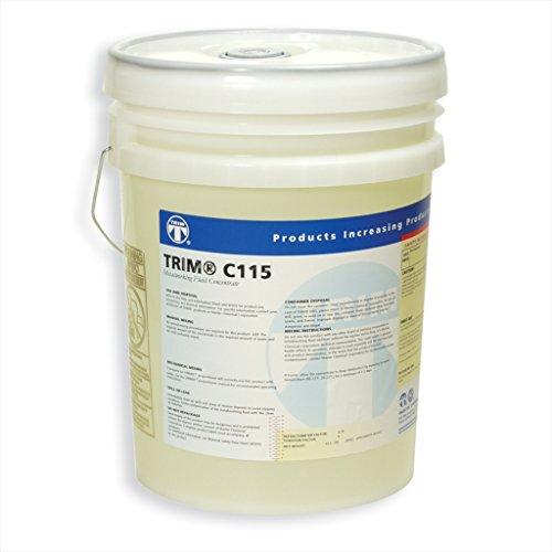TRIM Cutting & Grinding Fluids C115/5 Synthetic Fluid, 5 gal Pail