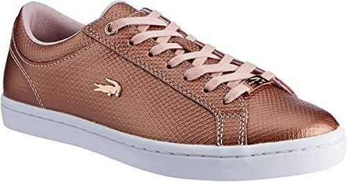 Lacoste Damen Straightset 318 2 Caw Sneaker, Pink (Lt Pnk/Wht 208), 36 EU