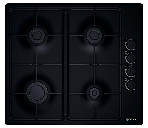 Bosch PBP6B6B80 Kochplatte (Einbau, Gas, emailliert, schwarz, drehbar)