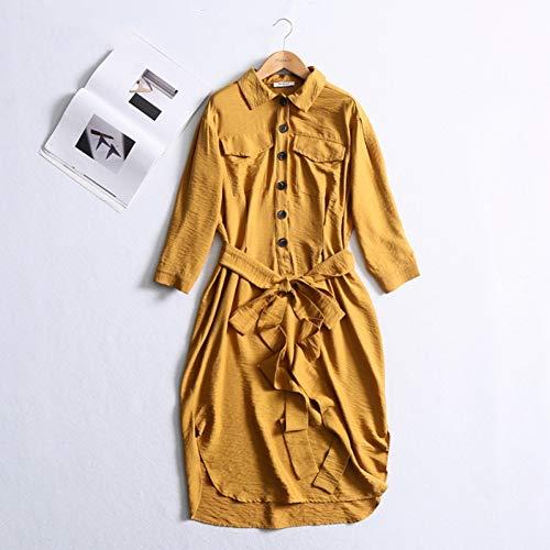 DAIDAILYQ - Golf-Kleider für Damen in Yellow, Größe XS