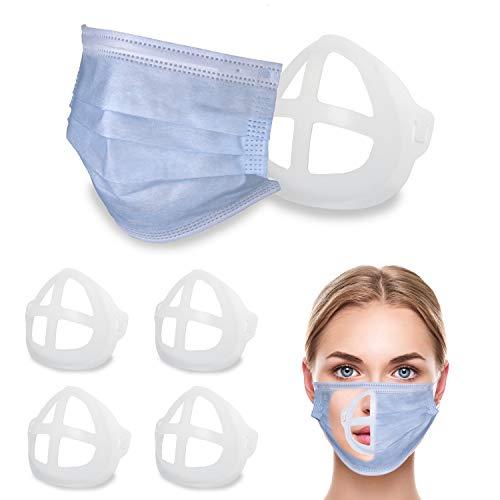 ALLDEGI® Premium Maskenabstandhalter [5er Set] für leichteres Atmen unter der Maske - Waschbare Maskenhalter - Maskenhalterung - Abstandshalter Maske