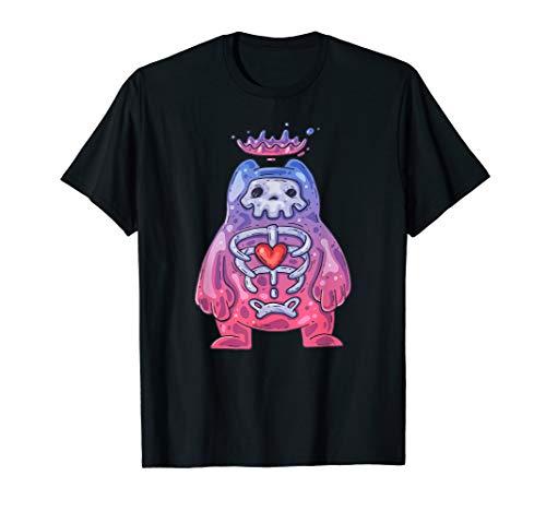 Gummibärchen-Schädel - Gelee-Monster - Karikatur-Schädel T-Shirt