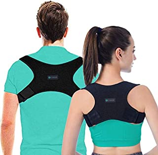 Best Posture Corrector for Men and Women, USA Designed - Adjustable Upper Back Brace for Clavicle Support and Providing Pain Relief from Neck, Posture Support - Back Brace - Kyphosis Brace (Regular) Review