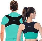 [2021 New Version] FY Posture Corrector for Women Men |Shoulder Supports| Effective Comfortable Adjustable Posture Correct Brace - Posture Support - Back Brace - Kyphosis Brace (Universal)
