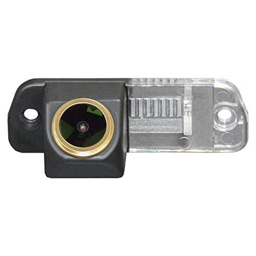 HD 1280x720p Goldene Kamera Wasserdicht Nachtsicht Rückfahrkamera Distanzlinien Umschaltbar Einparkhilfe für Mercedes Benz W164 ML Class X164 GL450/R300L/R350L/R350/R280 (W251)