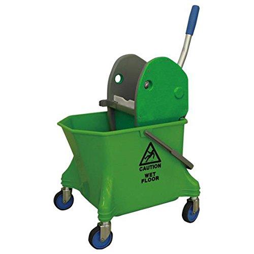 シーバイエス(C×S) 清掃用バケツ リンガー・バケツセット グリーン 6寸モップまで対応