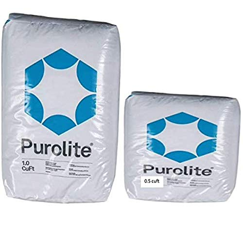 AFWFilters 1.5cuft Purolite C100E Resin C-100E Cationic Replacement for Water Softener 1.5 CuFt Bag Media, varies