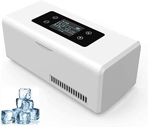 WUAZ Frigoriferi Portatile, Dispositivo di Raffreddamento Dell'insulina Scatola Refrigerata Piccolo Frigorifero Portatile di Caso di Refrigerazione per L'automobile/Viaggi/Casa