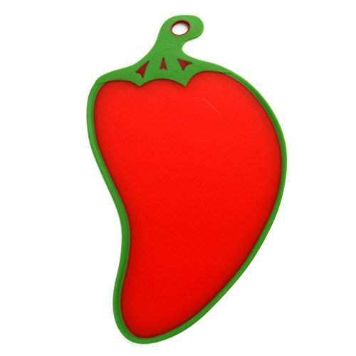 Red Chili Chopping Serving Board, Red Chili Shape