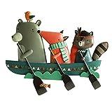 Ai xin Gancho Creativo de Dibujos Animados de Resina, Perchero Tridimensional...