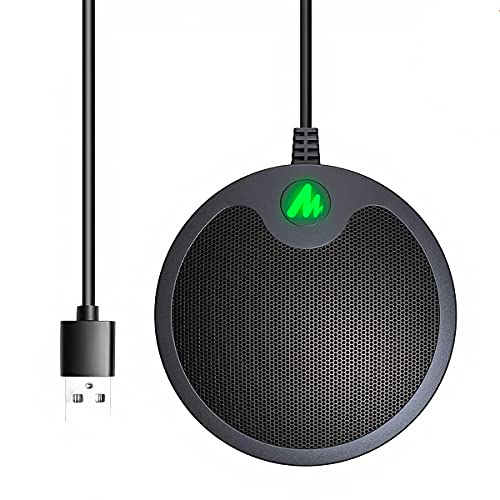 BINDEN Micrófono para Conferencias BM10 Sonido de Alta Calidad Microphone para Juntas Online Conferencias Virtuales o Remotas Skype...