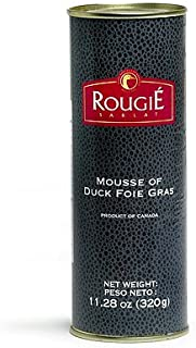 Rougie France (Round Tin) Mousse Of Fully-cooked Liver Foie Gras, 11.2000-Ounce Cans