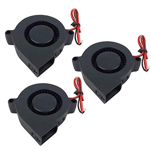 Ventola Furiga 5015 Ventola 24v 50X50X15mm Ventola di raffreddamento radiale DC Brushless Cavo da 30 cm per stampante 3D Dissipatore di calore macchina CNC 3PCS.