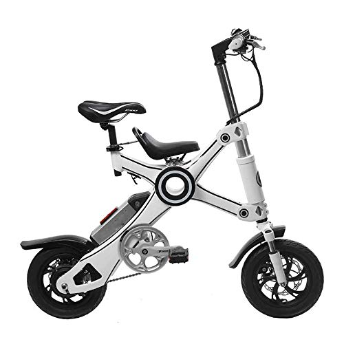 Hammer Scooter Elettrico Adulti, Doppia frenata e-motorino, Leggero Pieghevoli con Display a LED, 36V Ricaricabili Monopattino, velocità Massima 30 km/h, Scooter elettrici for Adolescenti