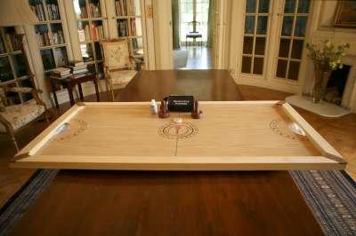 Übergames Hochwertiges Tisch-Hockey aus ECO-Hartholz
