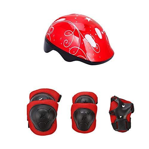 Casco de bicicleta, casco de la bici de la rodilla niños monopatín...