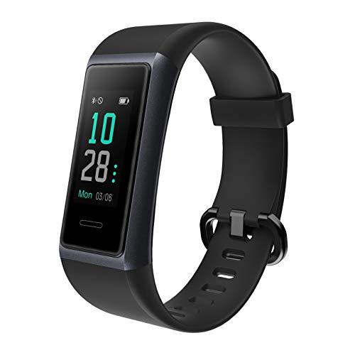 AIKELA 【2020 Neuestes Modell】 Fitness Armband, Smartwatch IP68 Wasserdicht Fitness Tracker mit Pulsmesser Farbbildschirm Aktivitätstracker Schrittzähler Fitness Uhr für Damen Herren iOS Android