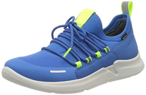 Superfit Jungen THUNDER Sneaker, (Blau/Gelb 81), 38 EU
