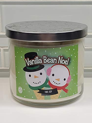Vanilla Bean Noel Candle ~ 3 Wick Candle ~ 100% Soy Candle ~ Great Christmas Candle