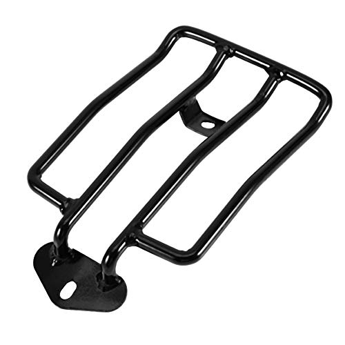 aqxreight - Solo Seat Rear Luggage Rack Carrier Fits For Sportsters XL883/1200 X48 2004-16