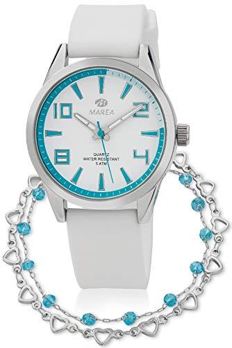 Reloj Marea Mujer B21189/10 + Pulsera de Plata