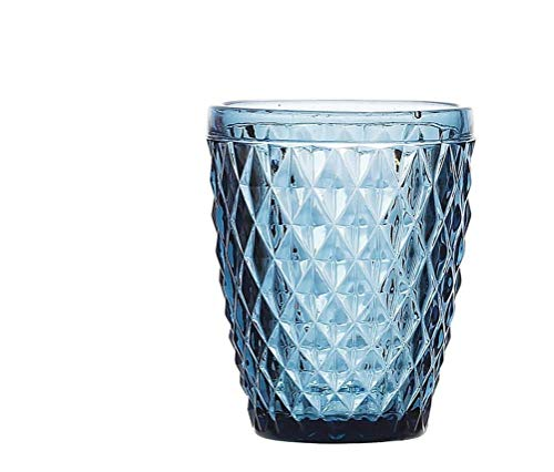 Vaso cristal Sidari 270ml - Set 6 unidades (Azul)