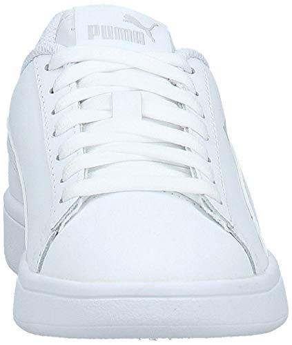 PUMA Smash v2 L, Zapatillas Unisex Adulto, White White, 36 EU