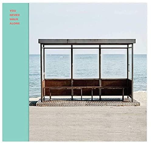 FGVB BTS You Never Walk Alone The Album Cover Canvas Poster Wall Art Print su Tela Soggiorno Camera da Letto di casa -50x50cmx1pcs- Senza Cornice