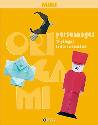 Mini-Origami Personnages