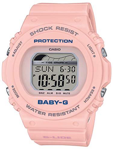 CASIO Damen Digital Quarz Uhr mit Resin Armband BLX-570-4ER
