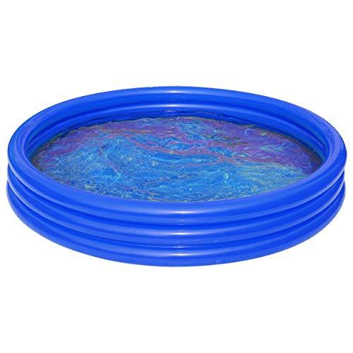 Best Sporting Piscina hinchable 'Uni' de 99 x 23 cm y 157 x 25 cm, color rojo y amarillo (azul, 180 cm)