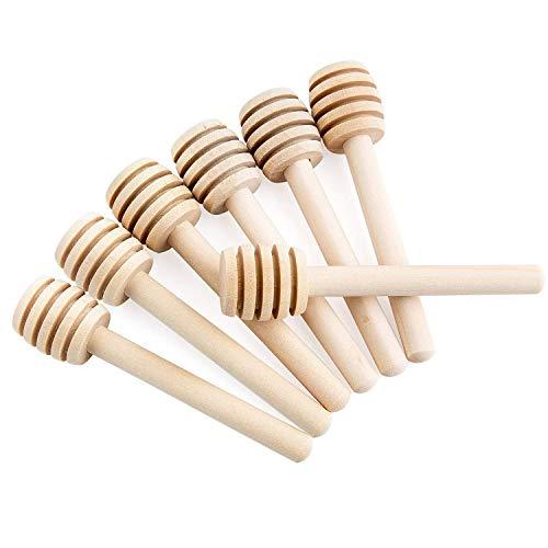 Diealles Shine 30 pcs Cucharas para la Miel, Palitos de Made