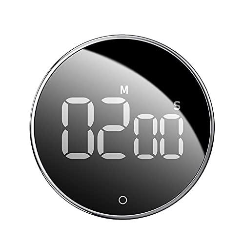 Aiglen Temporizador de Cocina Digital LED para cocinar Ducha Estudio Cronómetro Reloj de Alarma Magnético Electrónico COCCIÓN COCCIÓN Tiempo Temporizador
