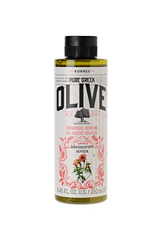 Korres Olive und Verbena Duschgel, 1er Pack (1 x 250 ml)