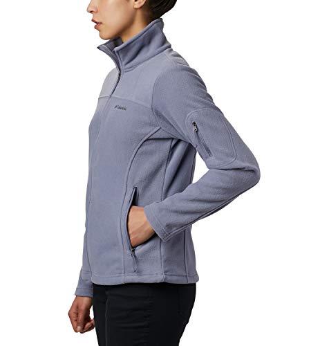 Columbia Women's Fast Trek II Full Zip Soft Fleece Jacket, New Moon, Large