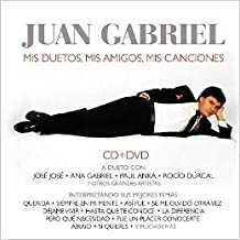 Juan Gabriel (Mis Duetos, Mis Amigos, Mis Canciones Cd-Dvd Sony-760029)