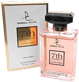7TH ELEMENT CLASSY DAMSEL BY DORALL COLLECTION PERFUME FOR WOMEN 3.3 OZ / 100 ML EAU DE PARFUM SPRAY
