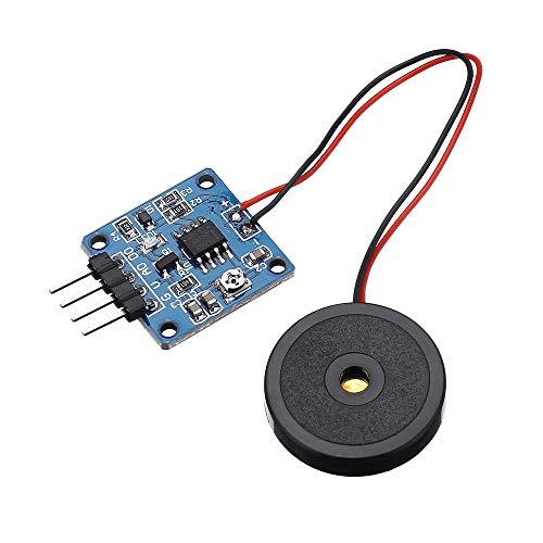 Módulo de sensor y detector 3pcs TZT 5V piezoeléctrico de película sensor de vibración módulo de interruptor de nivel TTL para Arduino - productos que funcionan con placas Arduino oficiales
