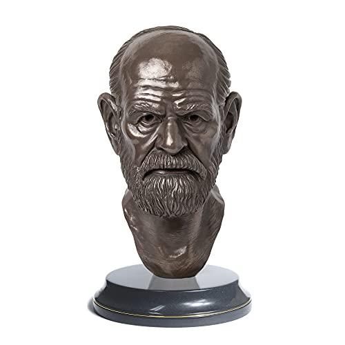Sigmund Freud   Escultura   Busto   Pai da Psicanálise   decoração, busto, presente, psicólogo   Escultor André Waiga